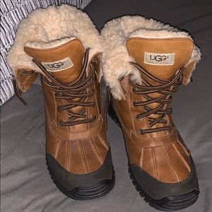 💯WOMEN LEATHER UGGS